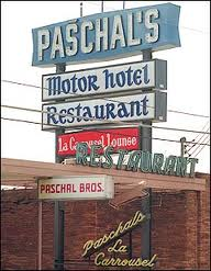 The infamous restaurant and motor hotel where Nathan spends a lot of his time.