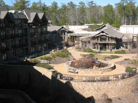 You can stay in one of the delightful cabins or condos.