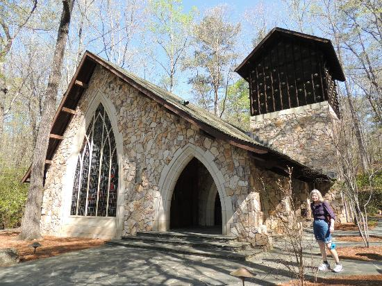 The Callaway Chapel is one of the most photographed sites at The Gardens.
