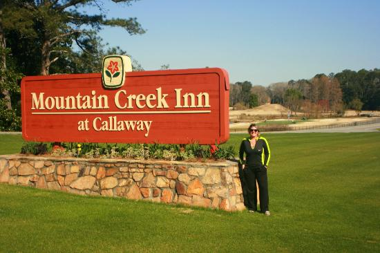 Or in the hotel across the hwy.  It used to be a Holiday Inn until Callaway bought it.  It has several restaurants and a couple of lounges in it.