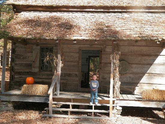 There is also a small pioneer cabin near the chapel and the butterfly center that often has shows on how to make soap, candles or spin yarn.