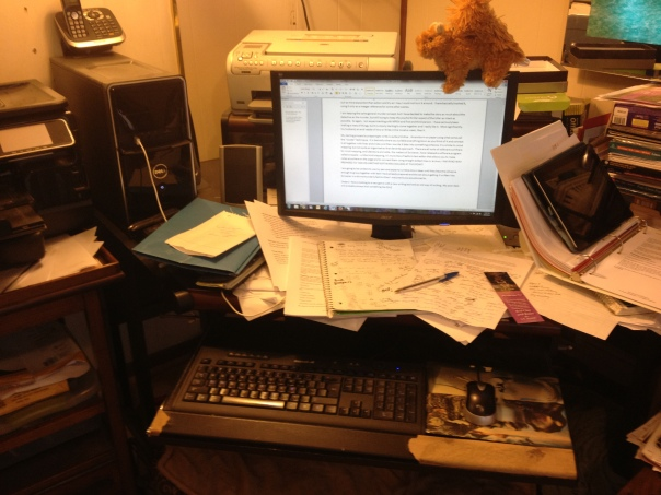 The Desk Today 001
