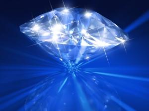 Diamond scinilation