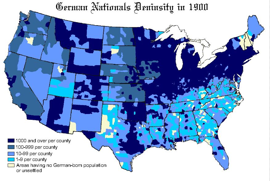 January SK Nicholls - Us map immigration as oof 1900