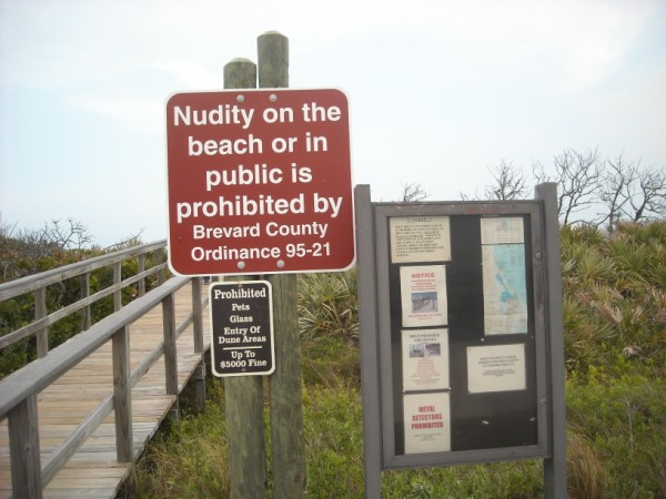 Back across the boardwalk and you'll see that the locals ordinances are always at odds with the Feds. There are ongoing court cases, where locals and traveling Europeans  are fined anywhere from $25.00 to $500.00 for violating local nudity ordinances.