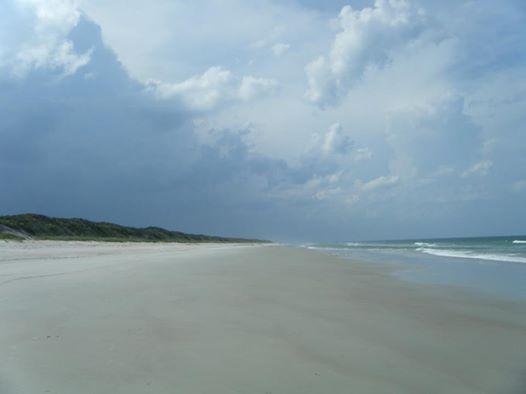 No condos, no hotels, no commercial enterprises...just you and the beach.