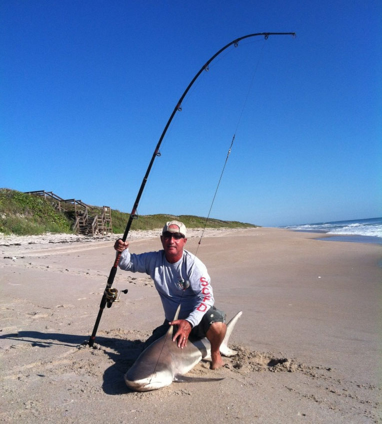 black tip shark surf fishing s k nicholls