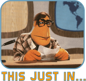 The Newsman from The Muppet Show