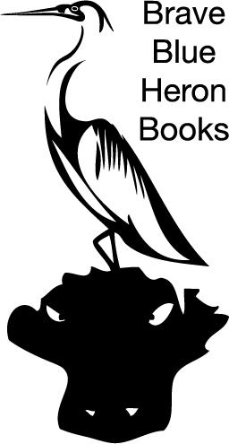 BraveBlueHeronBooks vector image